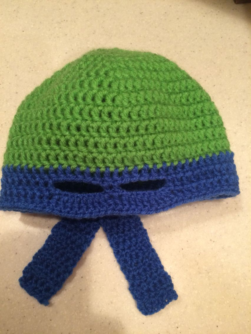 Ninja hat   Crochet   Pinterest