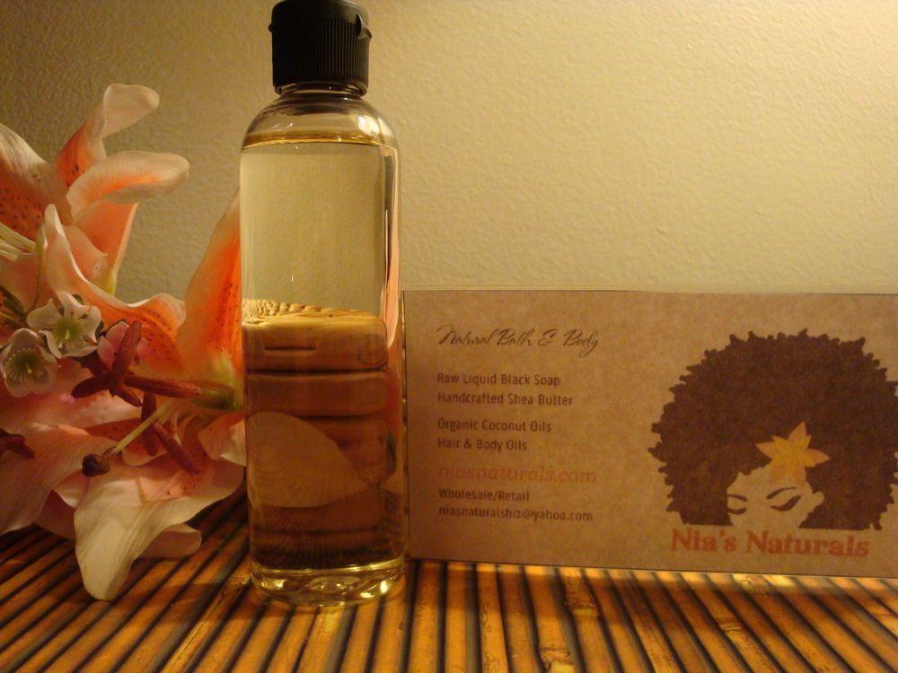 Lavender Mint Body & Massage Oil 4oz Bottle FREE SHIPPING!