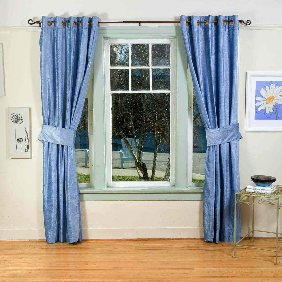 Blue Bedroom Curtain Ideas