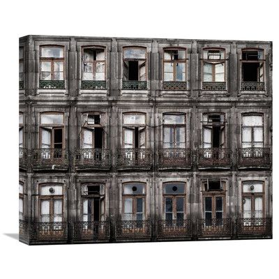 Global Gallery 'Decay' by Fran Osuna Photographic Print on Wrapped Canvas Size: 1