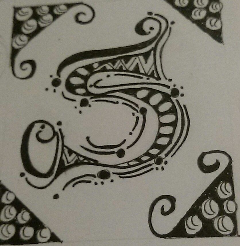 Letter 'S'