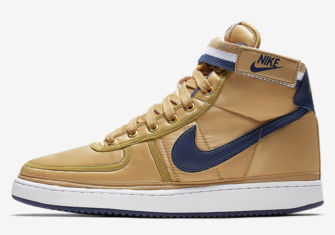 96ebba2fd12dec Nike Vandal High Supreme Appears In Gold And Navy