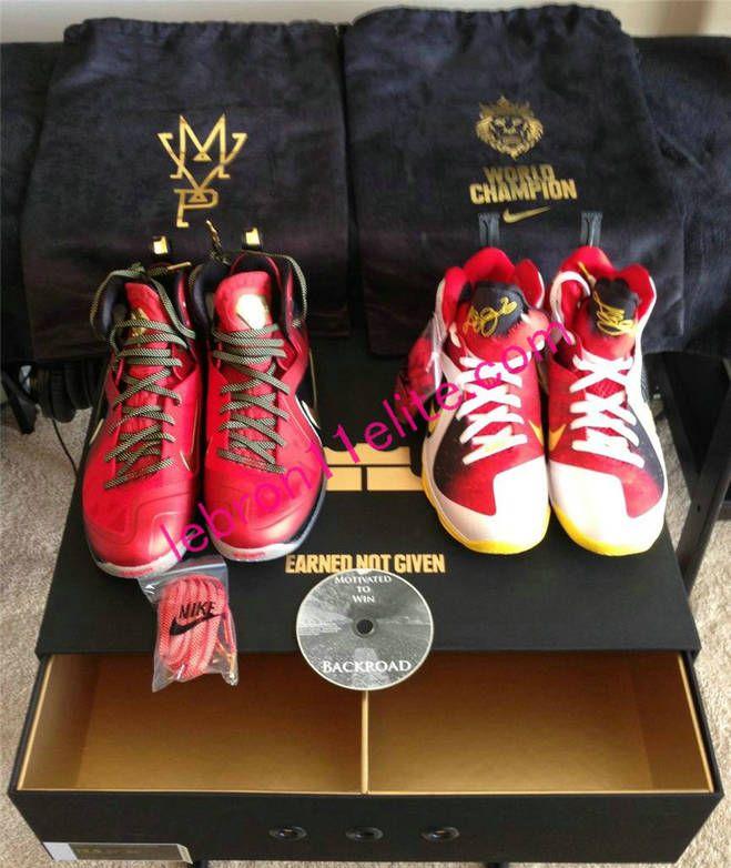 online retailer ffa9d ea050 Nike LeBron James Lebron 9 Championship MVP Pack