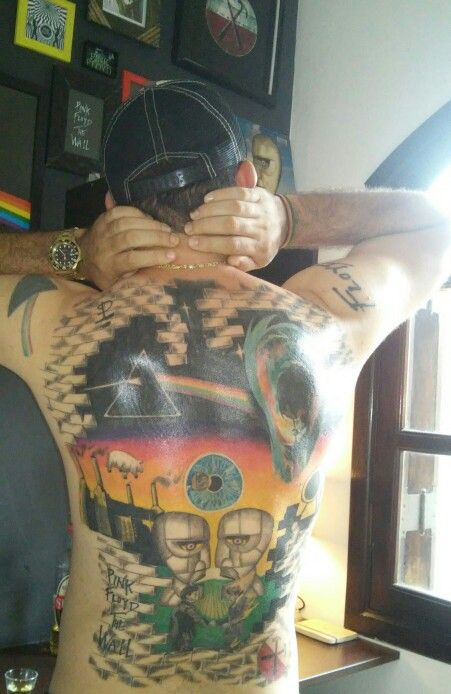 George Floyd Tattoo: Tattoo Pink Floyd #mauriciofloyd