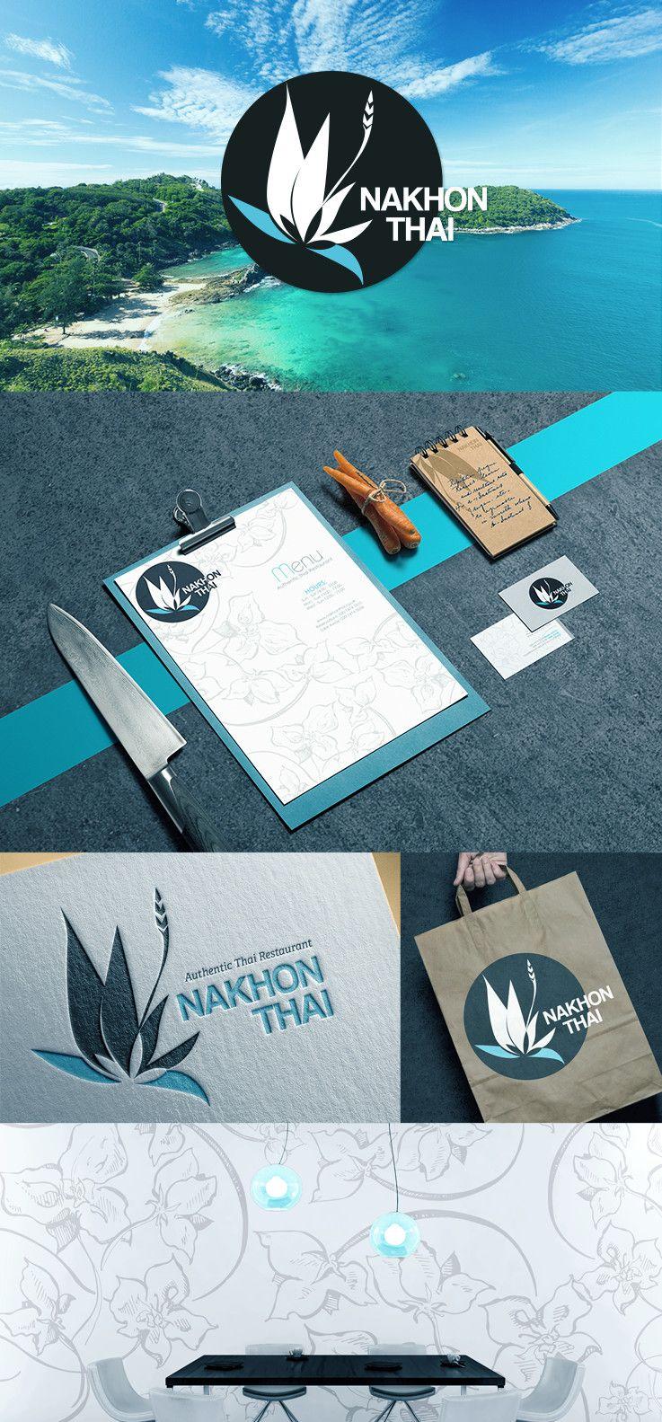 Restaurant designs restaurant logo creator restaurant logo maker - Thai Restaurant Re Brand Logo Branding Design