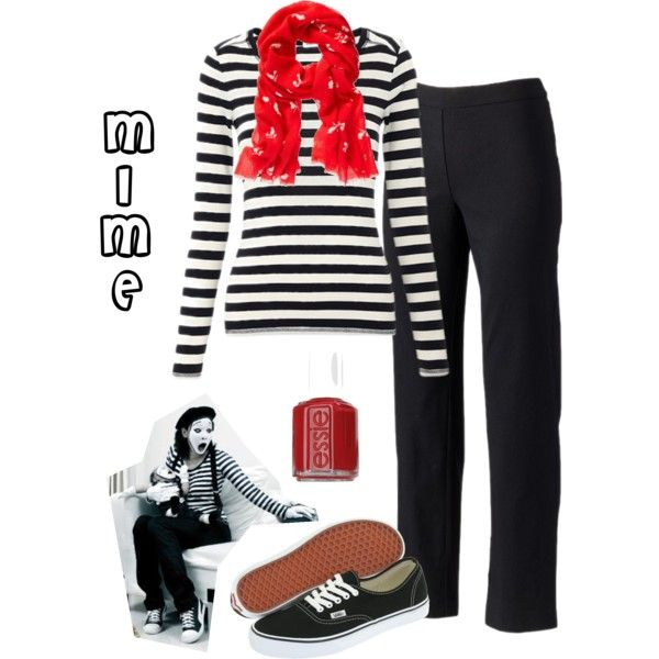 French Mime Costume Diy: Halloween Costume - Mime