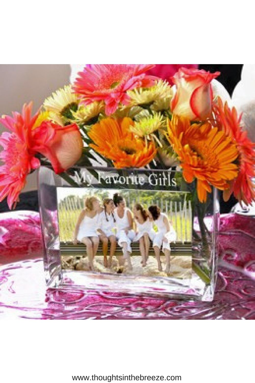 gallery personalised custom wedding flower gifts item for gift personalized vase display