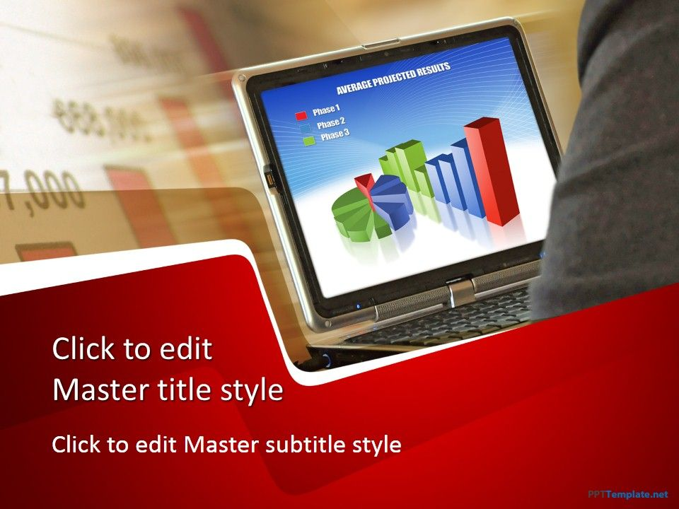 Freecomputerppttemplate Abstract Ppt Templates Ppt Templates