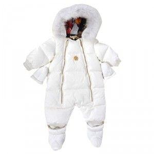 78ddef04d Kids Cavern - Roberto Cavalli, Baby, Girls, Ivory, Snowsuit - Armani  Junior, D, Childrens Clothing, Designer clothes, fashion, Kids Cavern, D  and G, Kids ...