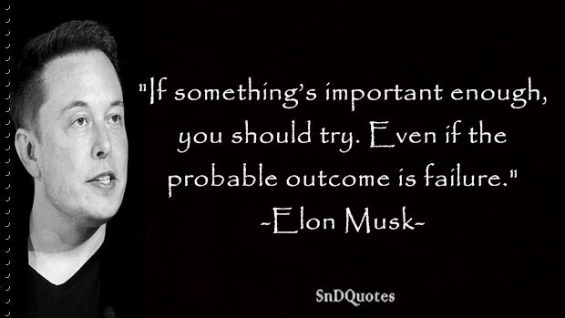 Image result for Why Failing is Important: Elon Musk