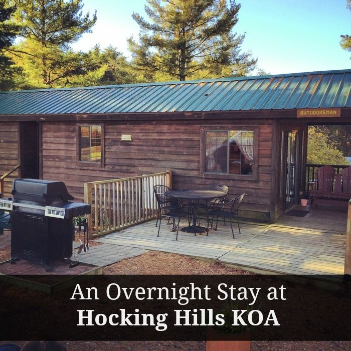 An Overnight Stay At Hocking Hills Koa Ohio Travel Rv