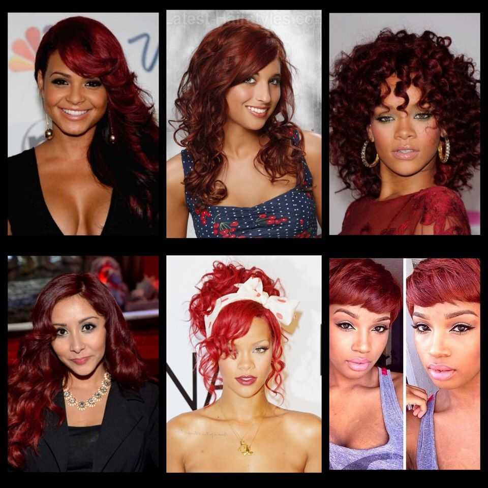 Hair Colors For Red Skin Tones