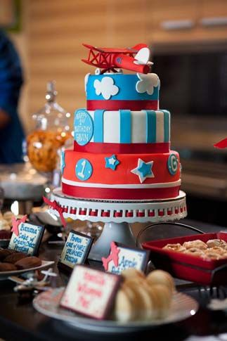 Airplane Cake!