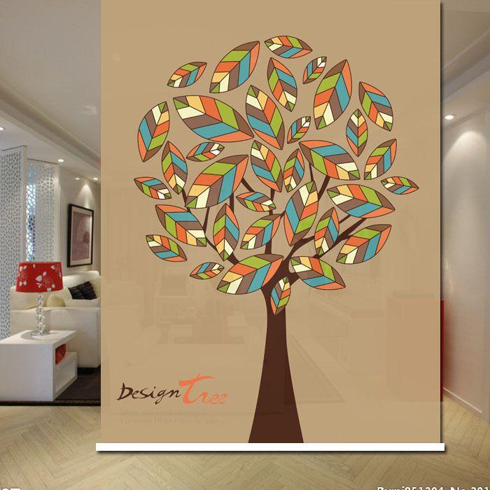 Colorful Leaf Design Blackout decorative roller shade Shutter Blinds for Living Room