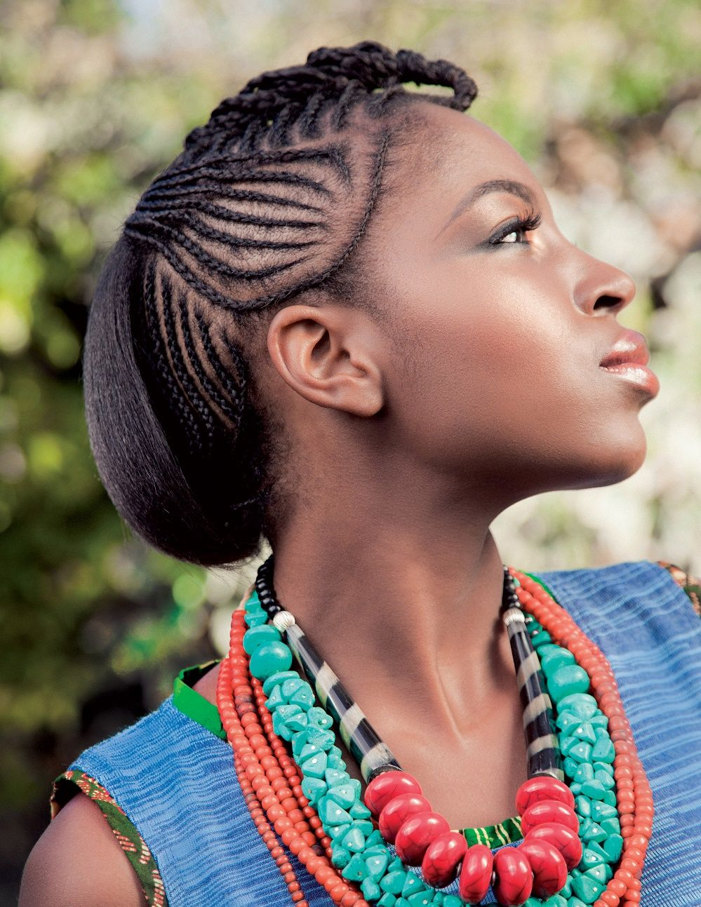 latest braided hairstyles for black women | hair styles for black