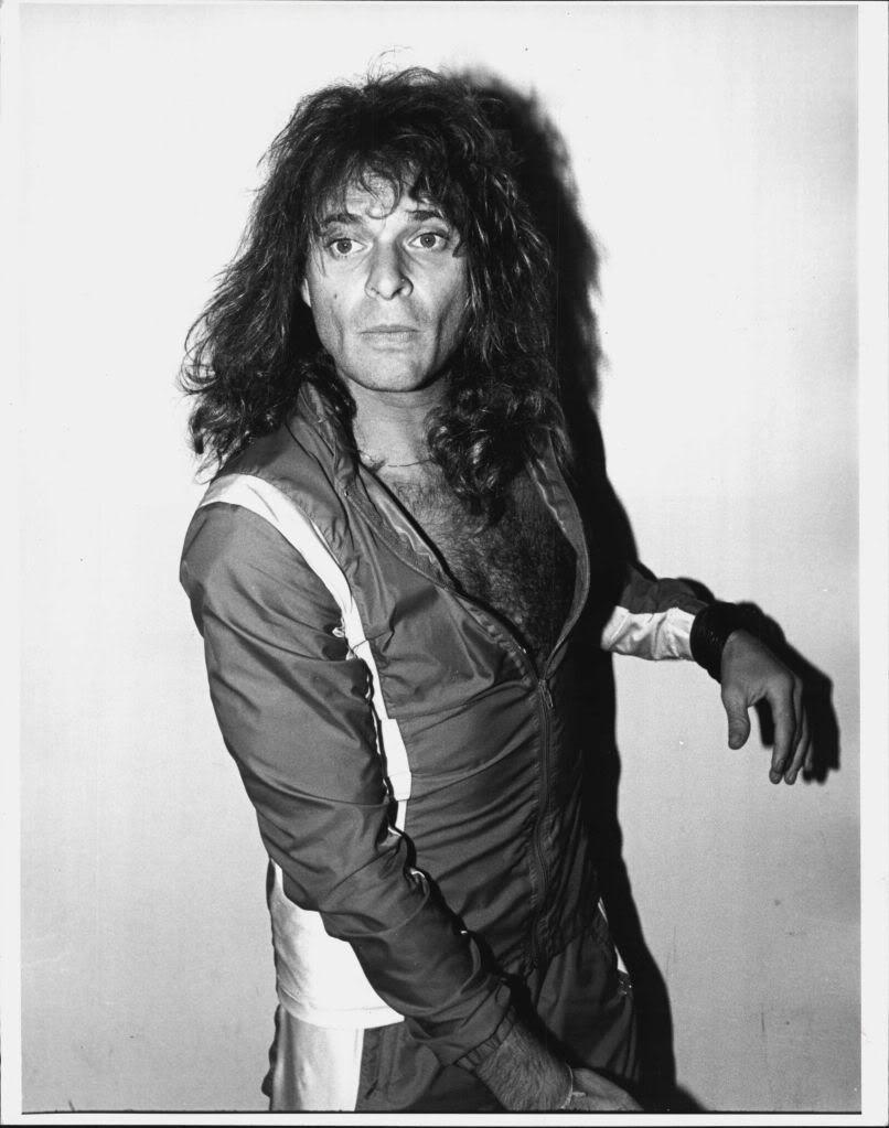 David Lee Roth 1978 David Lee Roth Van Halen Steven Tyler