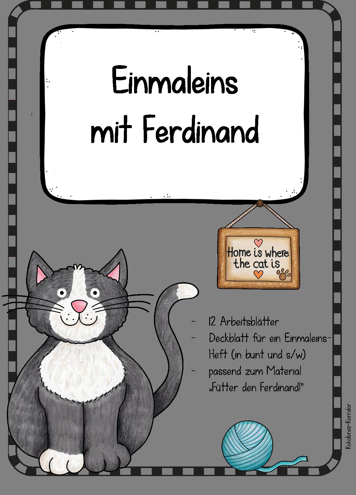 Arbeitsblätter mit Ferdinand - Einmaleins – Mathematik | Tipps ...