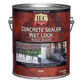 H Amp C Concrete Sealer Wet Look Water Based Actual Net