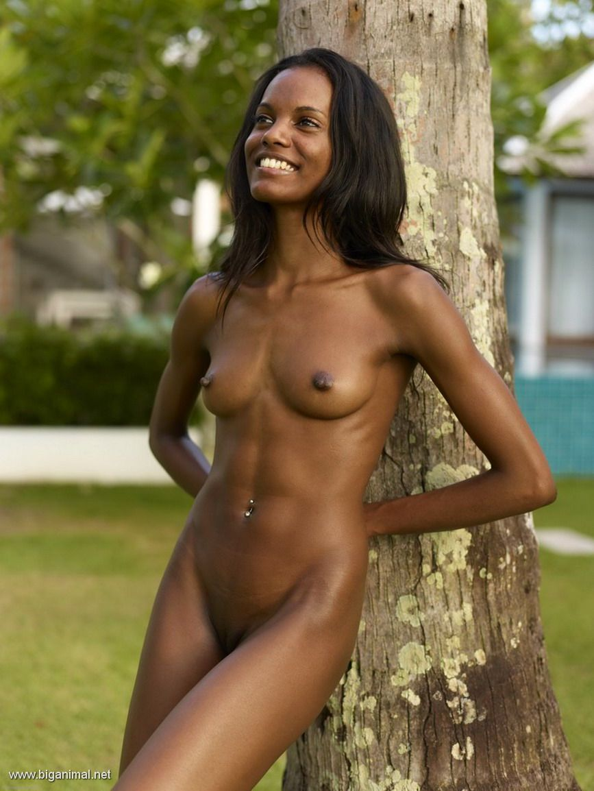 Schwarze mädchen nackt