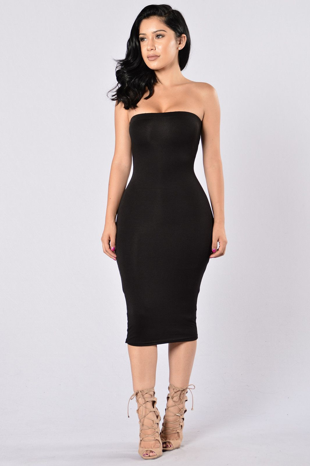 8615b9c3535ab Tube Dress - Elastic Band - Double Lined - Made in USA - 95% Rayon 5%  Spandex Item #: 02901