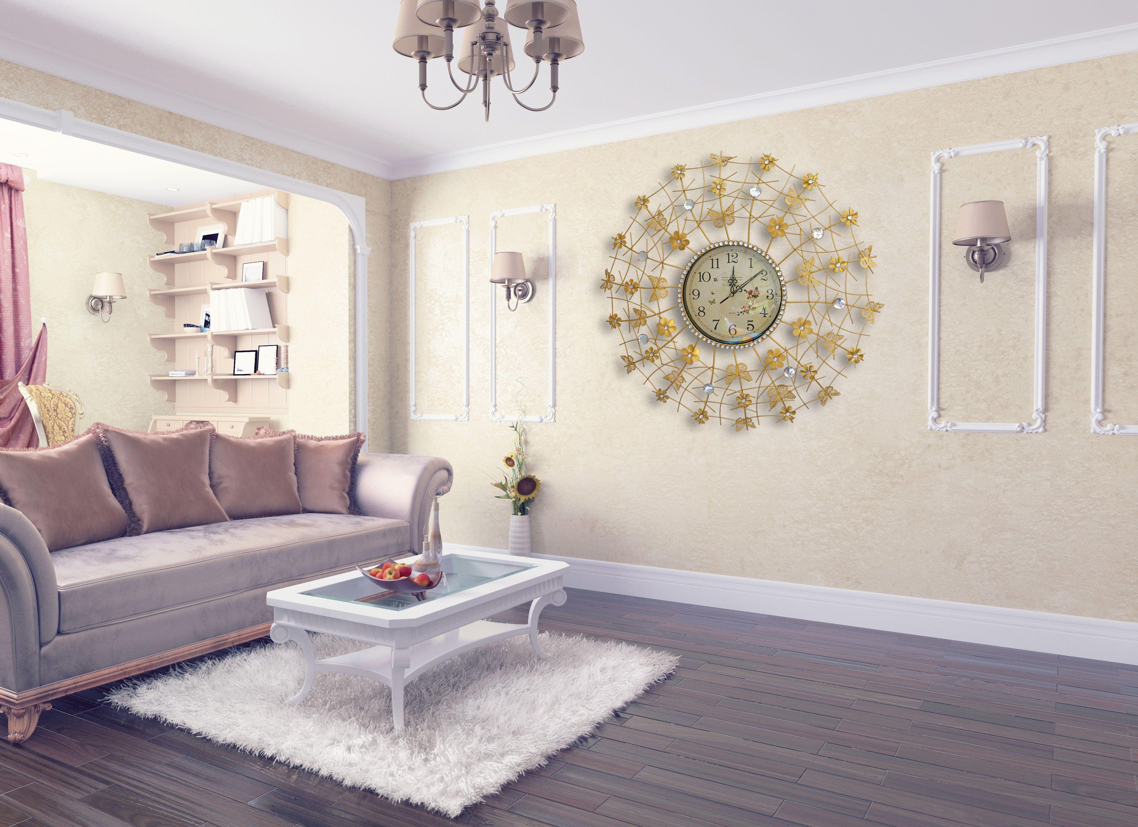 nice large modern wall clock
