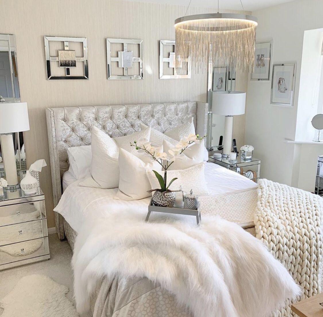 Photo of White bedroom!