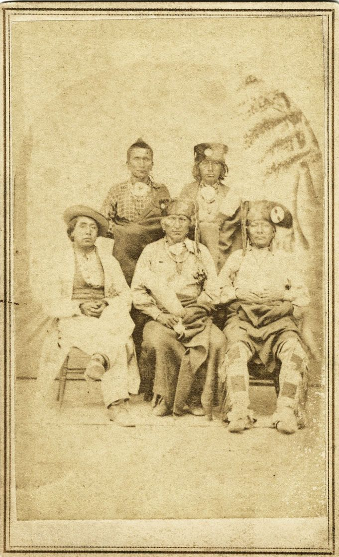 Group Of Native American Men
