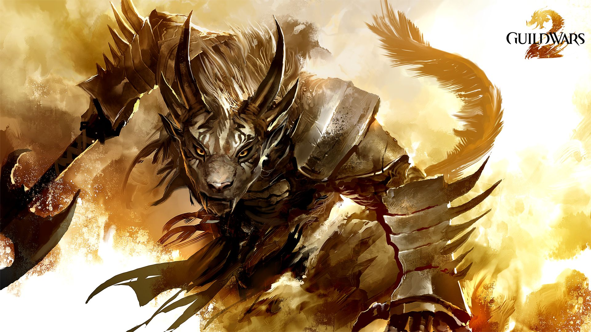 Guild Wars 2 Badass Charr Warrior 1920x1080 Need Iphone 6s