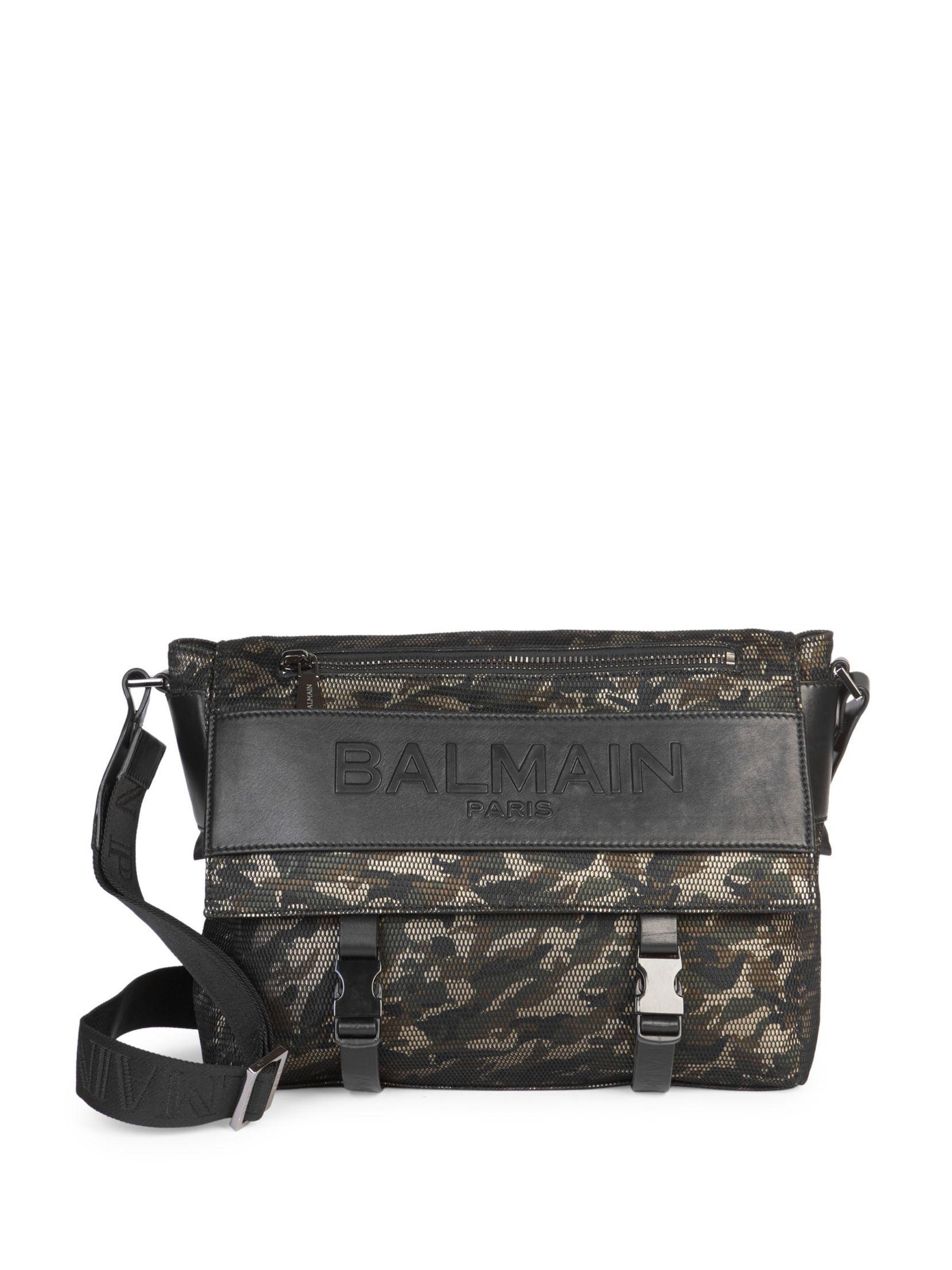 e29bdd25e7 Balmain Camo Messenger Bag