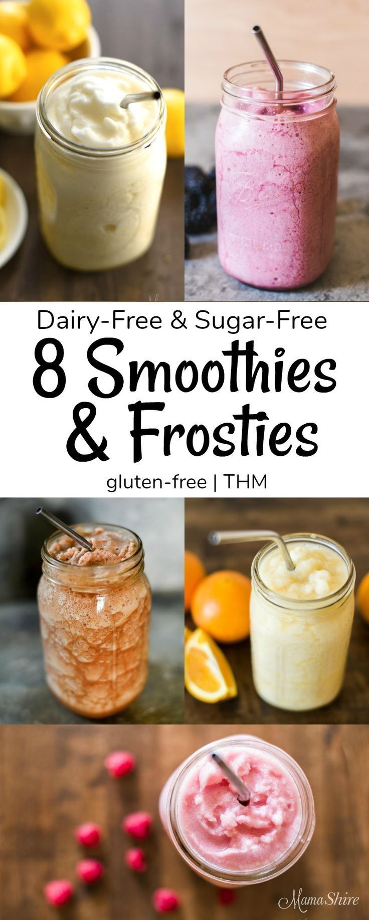 Dairy-Free Sugar-Free Shakes #dairyfreesmoothie