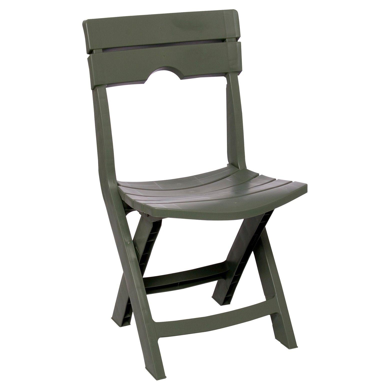 Quik Fold Chair Sage Adams Outdoor Folding Chairs