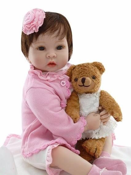 15571baf4d3b Oportunidade! Boneca Bebe Reborn Boneca 55 Cm Sob Encomenda | bebes ...