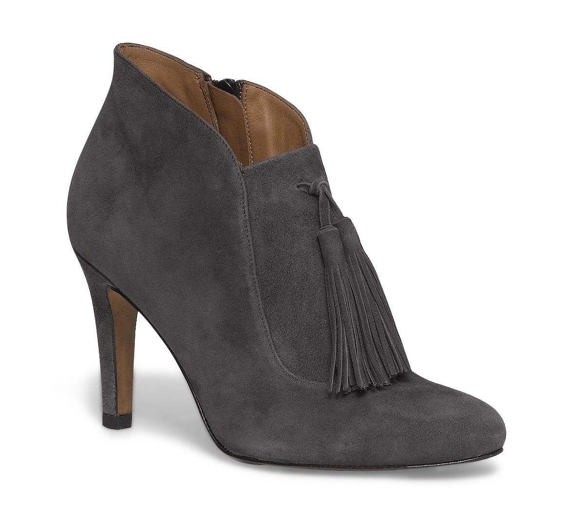 les 25 meilleures id es de la cat gorie bottines grises femme sur pinterest bottes grises. Black Bedroom Furniture Sets. Home Design Ideas