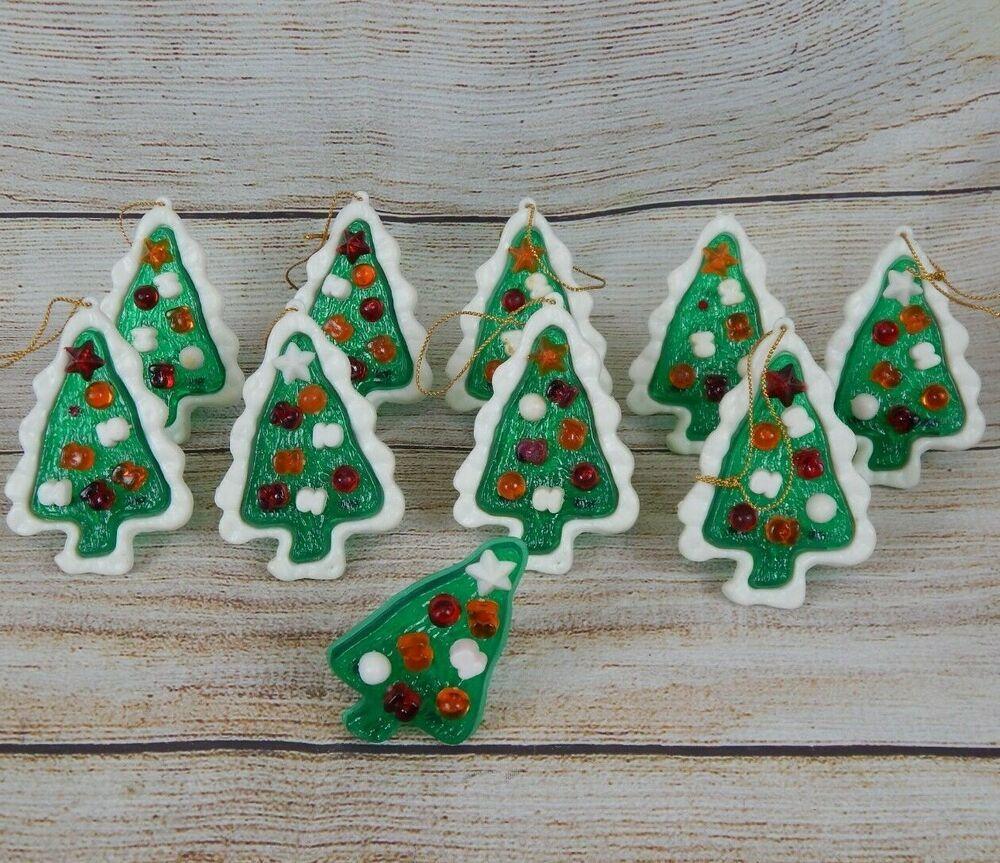 10 Vintage Christmas Tree Mini Light Bulb Covers Toppers Hard Plastic Unbranded Vintage Christmas Tree Vintage Christmas Topper