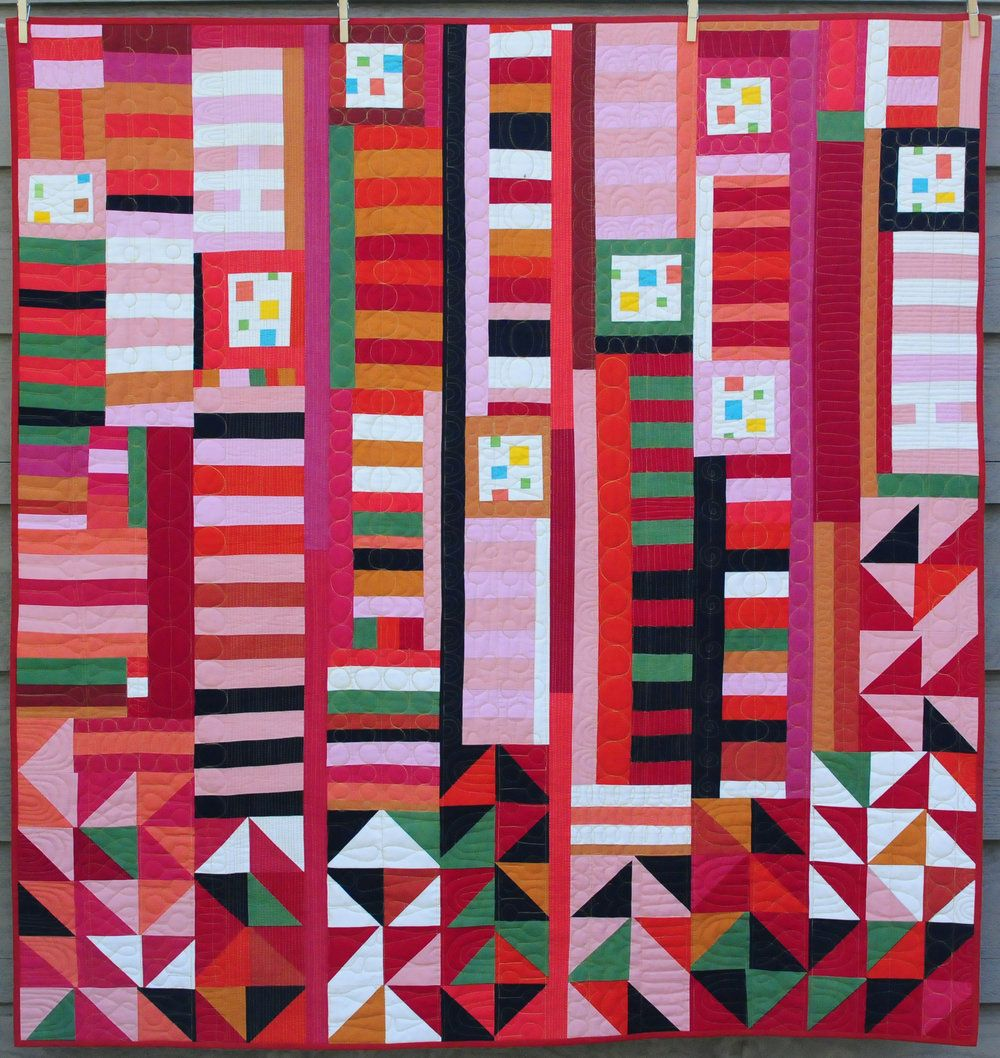 Modern Quilts: Designs of the New Century | Pinterest
