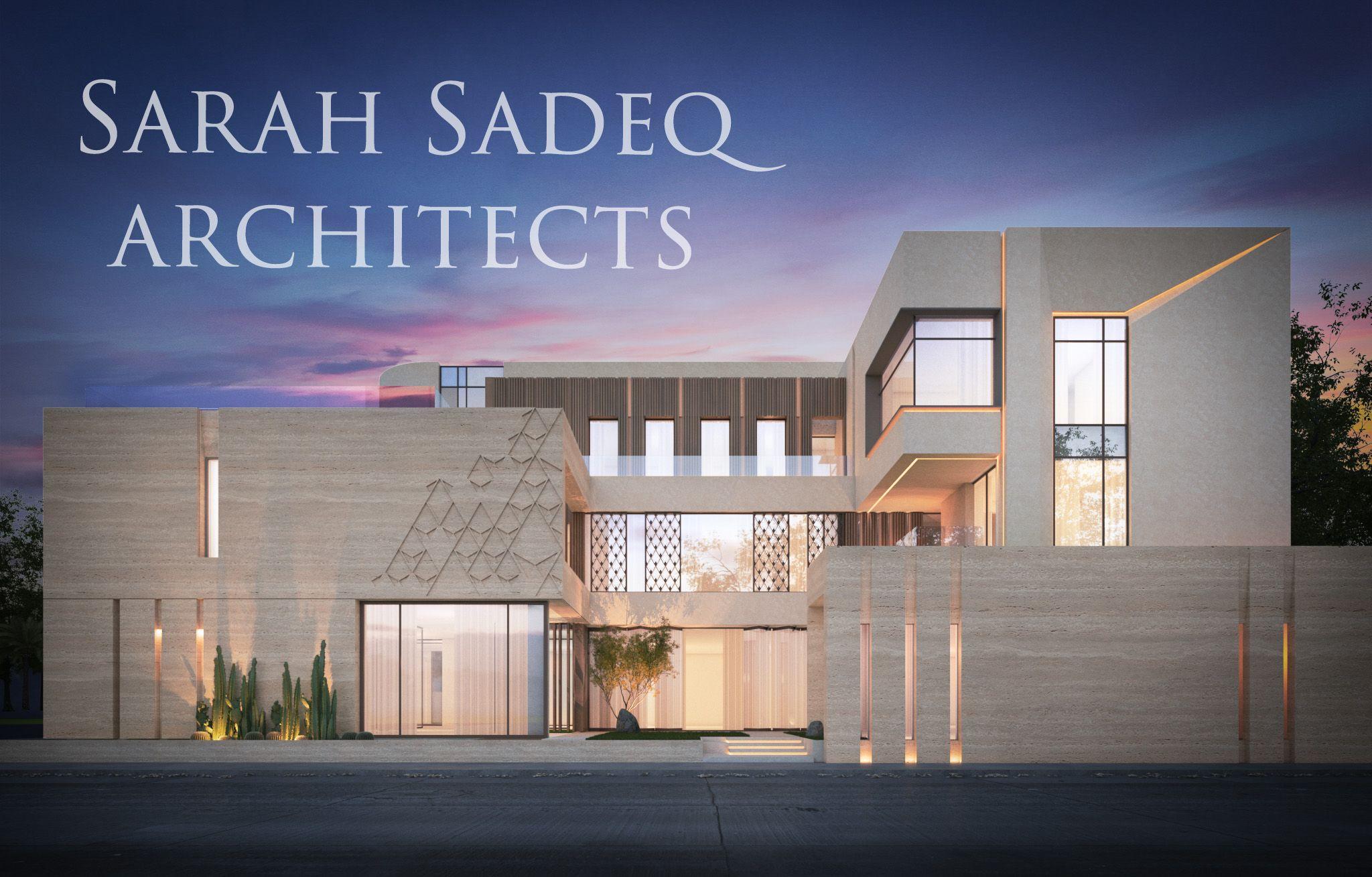 Sarah Sadeq Architects Letschat Sarahsadeq Com Facade House House Front Design House Exterior