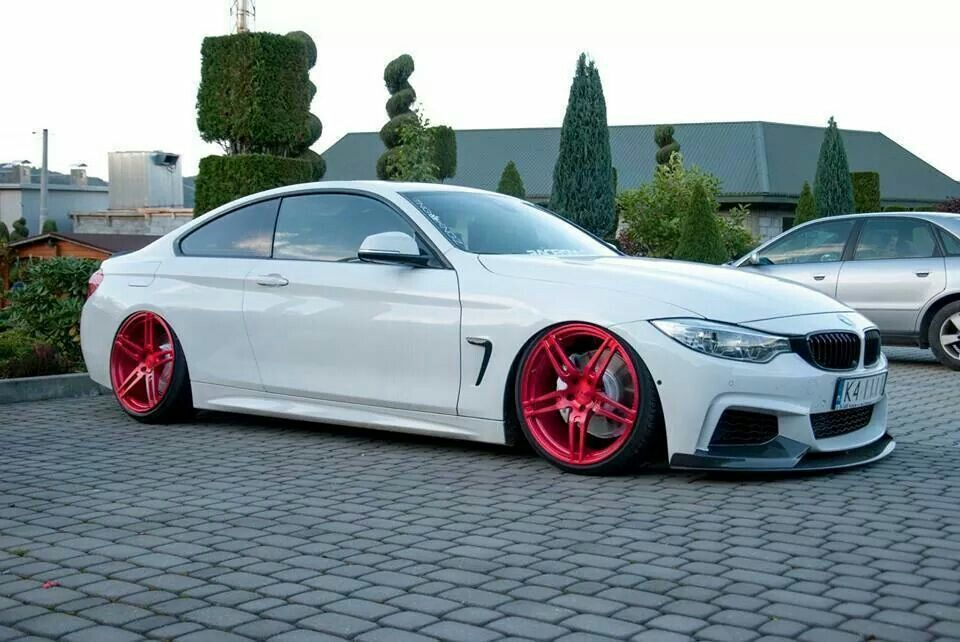 Bmw F32 4 Series White Slammed Bmw Ultimate Driving
