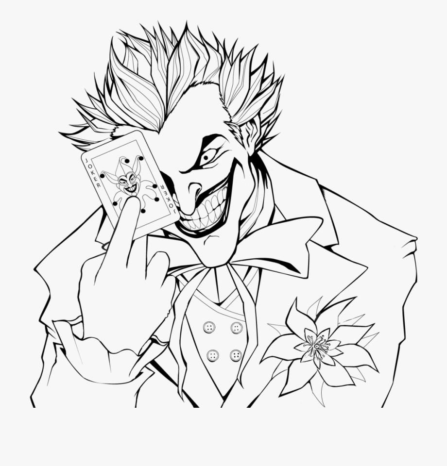 10 Coloring Page Joker Coloring Pages Colorful Art Printable Coloring