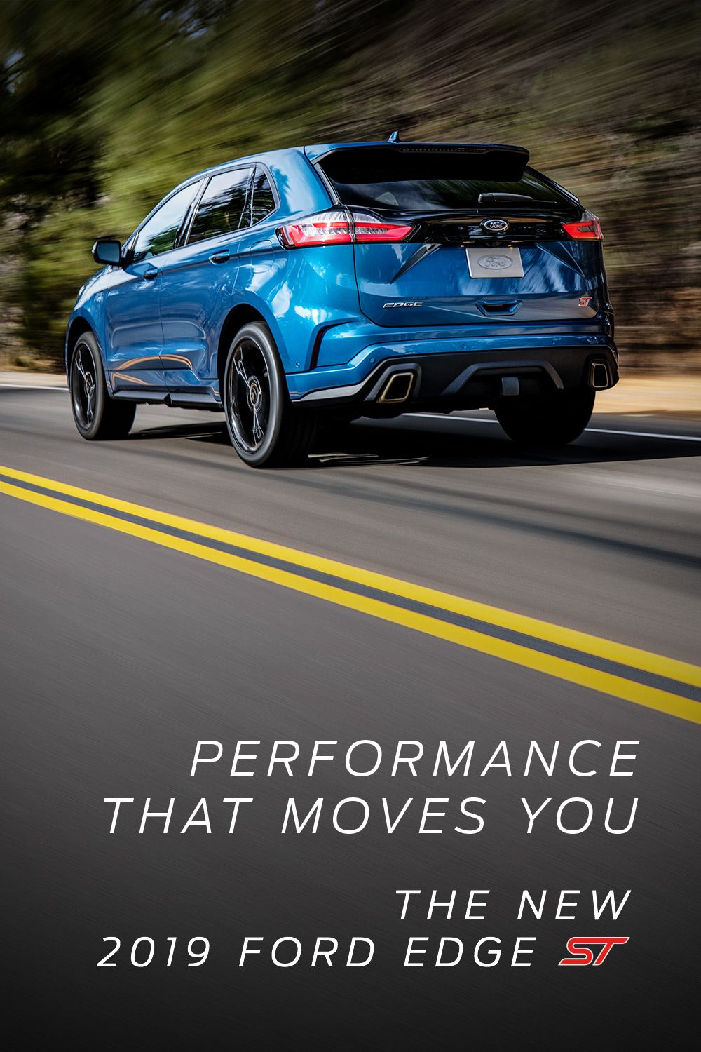 Experience the feeling of performance in an SUV Ford