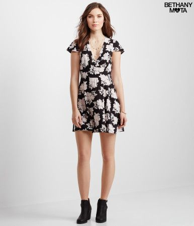 Bethany Mota Floral Dress