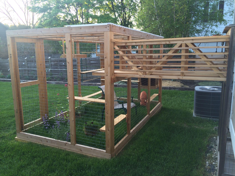 Catgola cat walkway outdoor cat enclosure cat enclosure