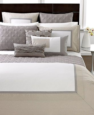 Closeout Hotel Collection Modern Block Bedding Collection Hotel Collection Bed Bath Macy S Hotel Collection Bedding Remodel Bedroom Home Bedroom