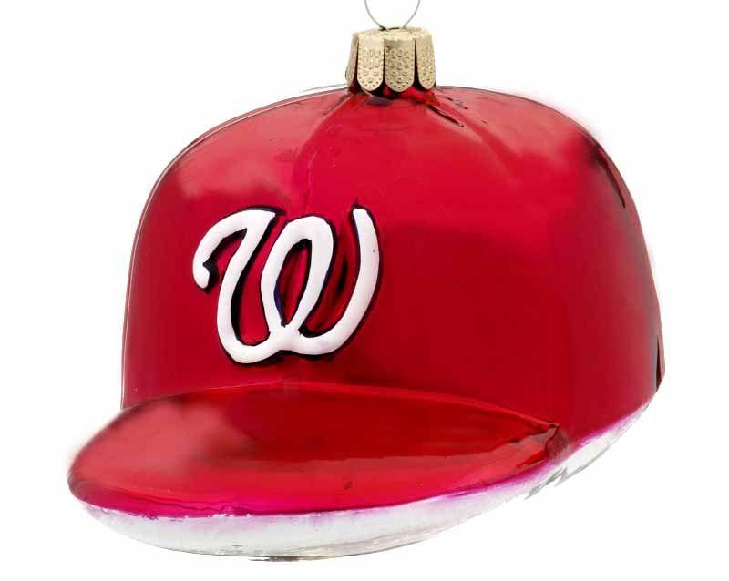 Washington Nationals Baseball Hat Christmas Ornament ...