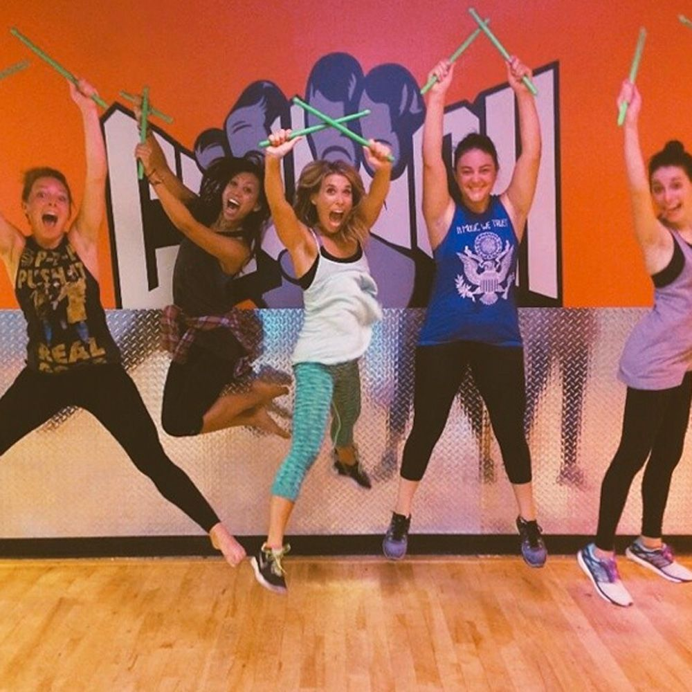 Guaranteed to get you moving - we're thinking Pound, a full body cardio workout that fuses pilates with drumming, is one to watch out for in 2015.