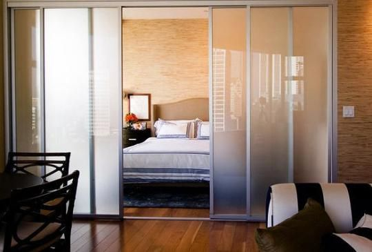 Temporary Pressurized Sliding Walls Great For Studio Apartments