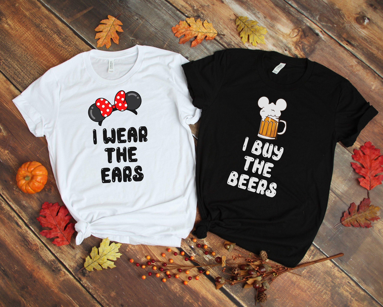 Drink around world Disney drinking matching t shirts Family Disney shirts Disney coordinating shirts Mickey and Minnie matching shirts