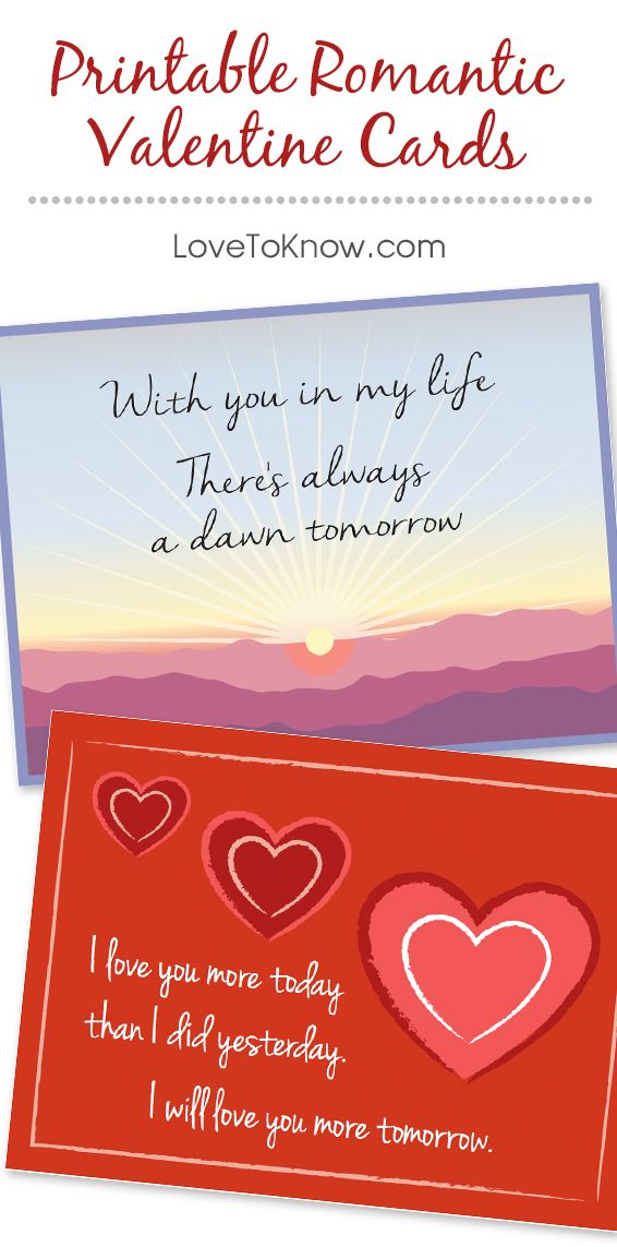Let the special person in your life know that you care by printing out a Valentine's card. Personalize the card with a sweet love note to let that person know how special and important they are to you.