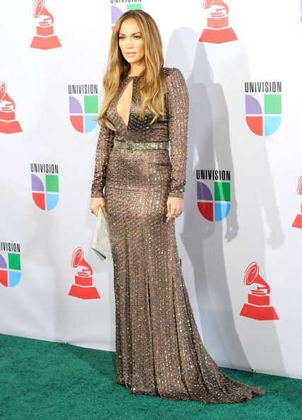 Andrew Gn's Bronsed Keyhole Gown - Jennifer Lopez's Most Magnificent Fashion Moments - Photos
