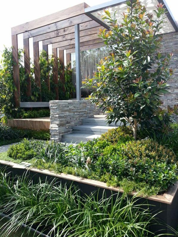 Gartengestaltungsideen   Wunderbarer Innenhof Mit Wasserspiegeln