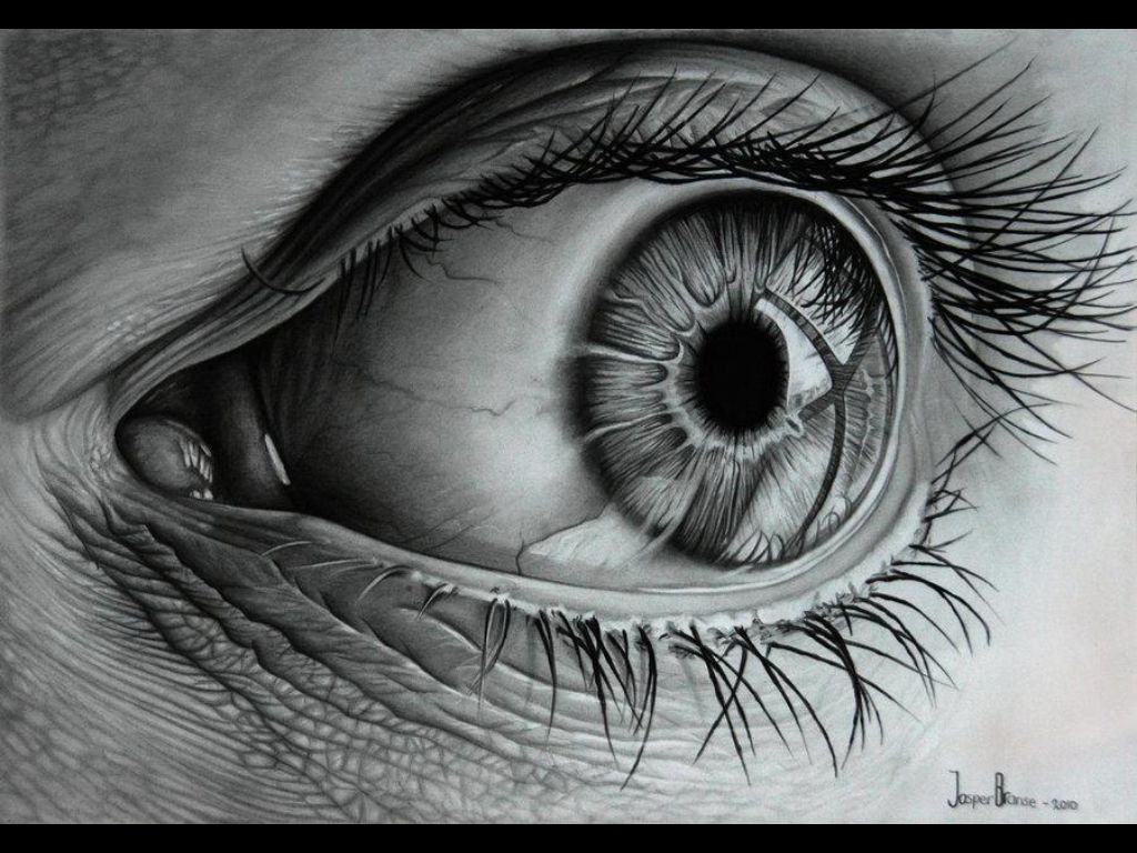 Realistic pencil drawings art drawings charcoal drawings eye art
